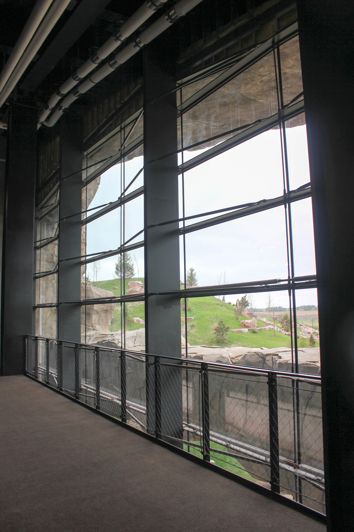 Cupples Curtain Wall : Epic deep space auditorium daver steels bar cable ltd