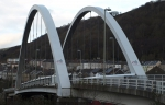 Rheola bridge arch view